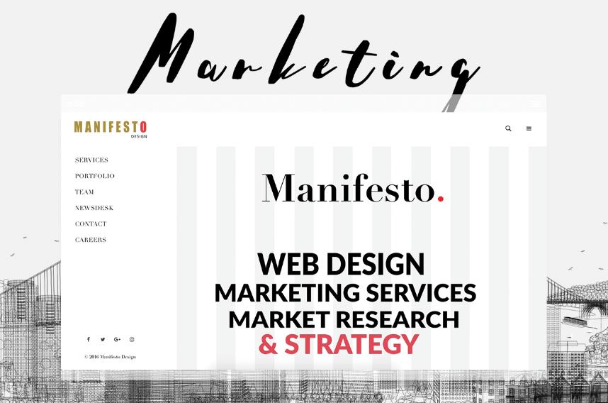 Manifesto Design new website