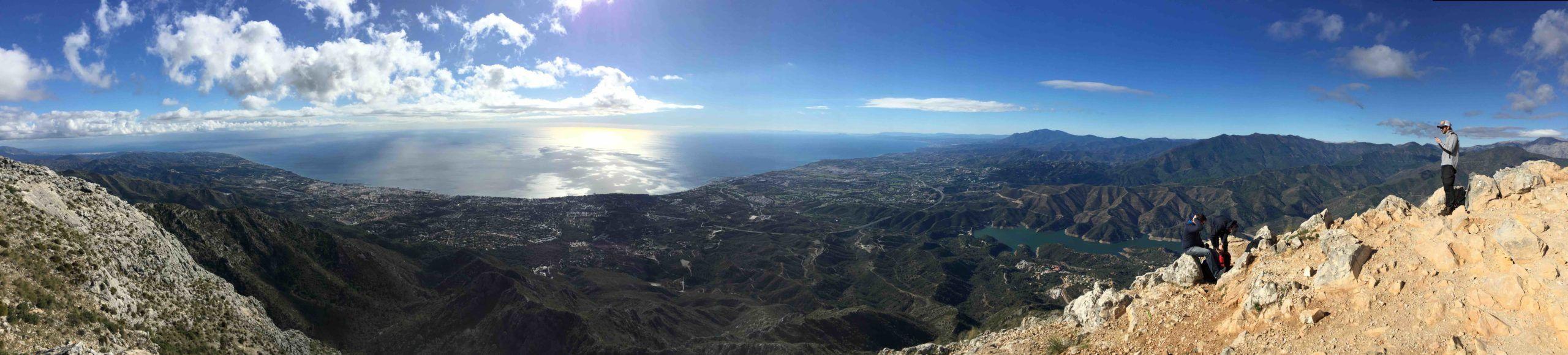 Hiking the La Concha mountain_view