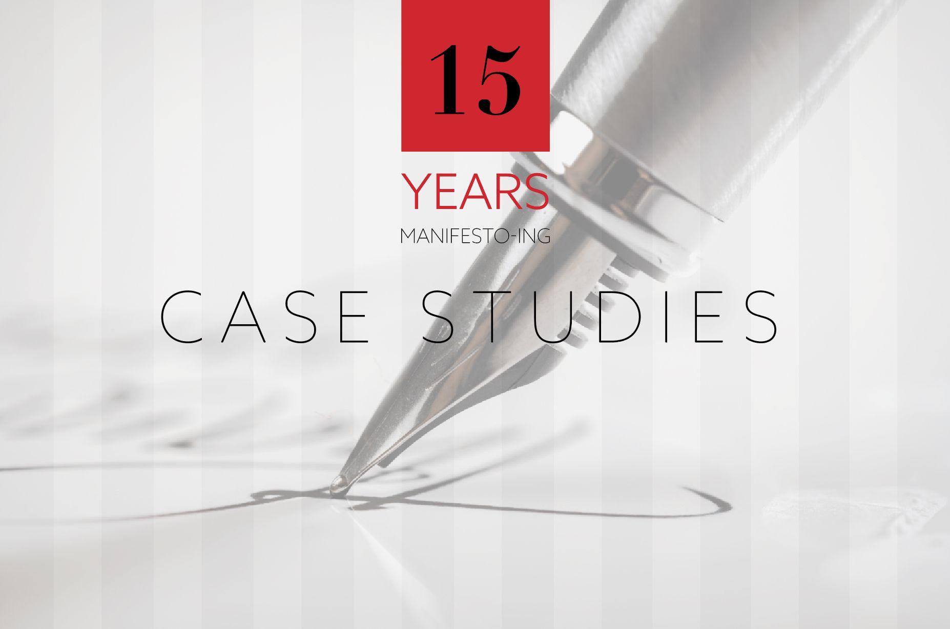 Manifesto Design in its 15th year _ case studies
