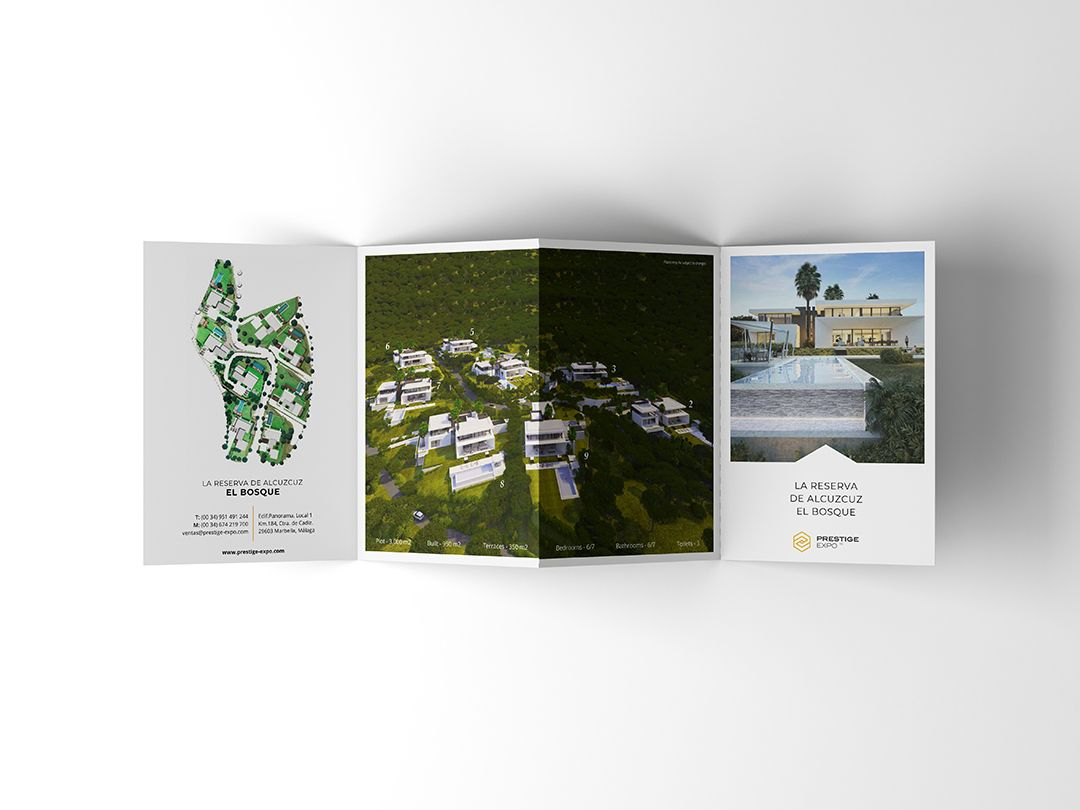 flyer design marbella