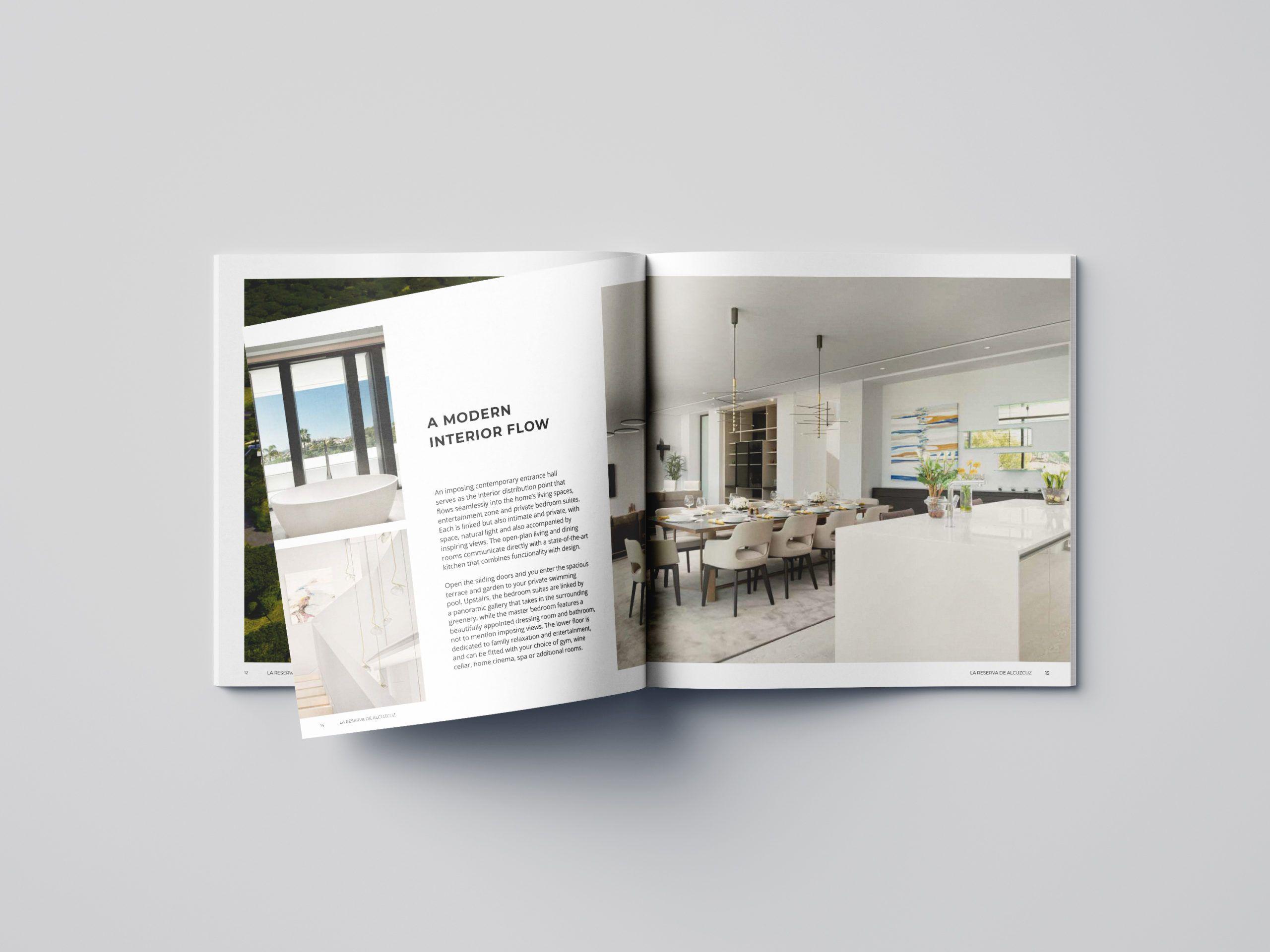 brochure design marbella