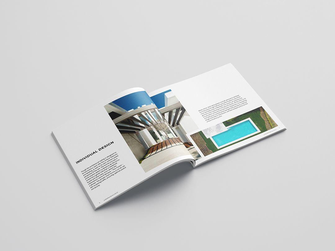 development brochure design