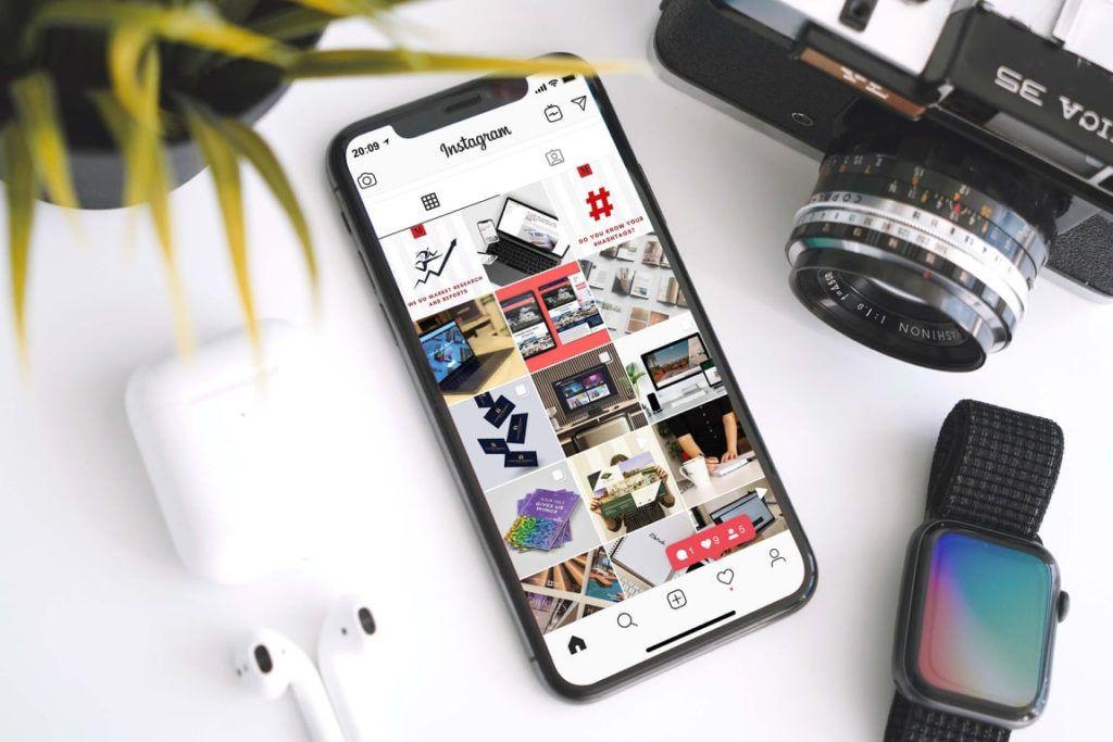 social media iPhone